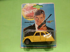 CORGI TOYS 115 CITROEN 2CV - JAMES BOND 007 - RARE SELTEN - UNOPENED BLISTER