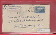 London Ont. 13c single use registered Canada cover London Santatorium