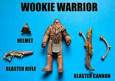 Star Wars Wookie Warrior Action Figure! Army Builder!