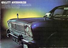 Ford Accessories 1967 UK Market Brochure Anglia Cortina Corsair Zephyr Zodiac