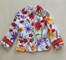 Dolce & Gabbana Gorgeous Women's Multi Color Summer Jacket Size 40