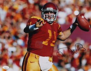 Signed Matt Leinart Signed USC Trojans 11x14 Photo Poster JSA COA Heisman Trophy
