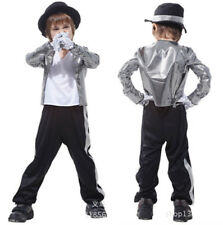 NEU Halloween Jungen Kinder 80s Michael Jackson Fancy Fasching Cosplay Kostüm