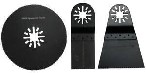 3 er Set Holz,Plastik 34mm,68mm & 80mm Halbrund pas. für E-Cut,Multimaster,Fein