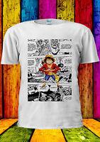 One Piece Monkey Luffy Manga Comic T-shirt Vest Tank Top Men Women Unisex 371