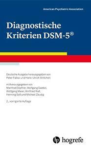 »Diagnostische Kriterien DSM-5«. Deutsche Ausgabe (2020)