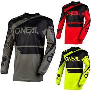 O'Neal Element Racewear Jersey Moto Cross MTB MX Mountain Bike Trikot Langarm