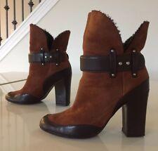 4ce38a92e3207 Giuseppe Zanotti Block Heel Leather Boots for Women for sale   eBay