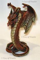 NEMESIS NOW DRAGON DRAXYL CANDLE HOLDER Gothic/Fantasy/Myth/Legend
