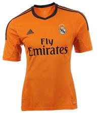 4cdf60a44 adidas Real Madrid 3rd Jersey Soccer Men Z29454 Orange Large 2013-2014 RARE