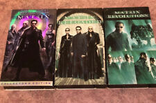 The Matrix 1 2 3 vhs