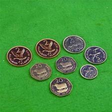 Falkland Islands 8 Coins, (3)20p 1992-99 (2)1992 2)5p1992-99 10p 1999 Unc RDL29