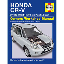 [4747] Honda CR-V 2.0 Petrol 2.2 Diesel 2002-06 (51 to 56 Reg) Haynes Manual