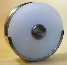 Wandlampe Bauhaus Opalglas-Scheibe Design-Leuchte nur 6 cm Ausladung/Wandabstand
