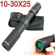 HD Nikula 10-30X25 Zoomable Monocular Optical Telescope Outdoor Hiking Hunting