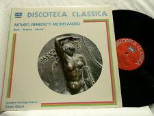 ARTURO BENEDETTI MICHELANGELI Bach Brahms Mozart Disco Classica EMI LP