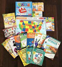 Pre-K, Kindergarten,1st Elementary Curriculum Workbook Homeschool (18 Piece) Lot
