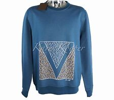 NEW LOUIS VUITTON MEN GASTON FLAG BLUE SWEATER SWEATSHIRT SWEATS HOODIE RARE XXL