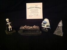 Nightmare Before Christmas Hawthorne Village Dr. Finklesteins Lab Figure Set