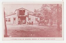 Milford,PA.Malibu Dude Ranch,Horses,Stable,Poconos,Pike Co.Used,Milford,1945