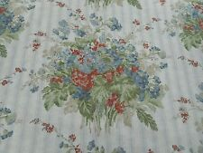 Ralph Lauren Curtain Fabric 'Meeting House Floral' Slate 3.6 METRES (360cm)