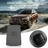Car Rear Seat Hook ISOFIX Cover Child Restraint for X1 E84 3 Series (Black)