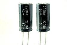 Amp part Samwha Electrolytic Capacitor 2200uF / 50V WL audio - condensateur X2