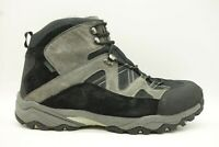 Propet Black Material Lace Up Walking Trail Ankle Boot Shoe Mens 14 3E / EEE