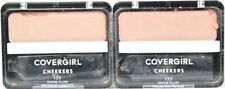 2 Ct Covergirl 0.12 Oz Cheekers 135 Snow Plum Blendable Blush Slightly Broken