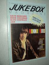 JUKEBOX MAGAZINE 002 (1/85) RONNIE BIRD DAVE EDMUNDS JAM ELVIS COSTELLO COCHRAN