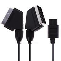 A/V TV Câble RGB Video Péritel SCART pour Nintendo SNES GAMECUBE N64 Consôle C