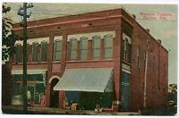 Postcard Masonic Temple in Marion, Alabama~107321