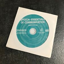 Switched-On Schoolhouse Speech: Essentials of Communications Curriculum Disc