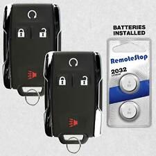 2 For 2012 2013 2014 2015 2016 Chevrolet Silverado 1500 2500 35 Remote Key Fob