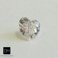 Heart Shape Diamond 0.33 ct. L SI1 Natural Cut Valentine's Day Gift Ring Love