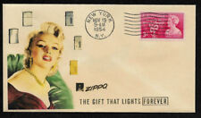 1950s Zippo Lighter & Marilyn Monroe Ad Featured on Collector's Envelope *OP539