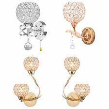 Crystal Wall Lamp Modern LED Glass Light Sconce Bathroom Lighting Fixture