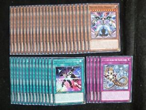 YU-GI-OH 43 CARD MEKLORD DECK  *READY TO PLAY*