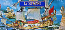 PLASTIC MODEL SHIP LA COURONNE 1/600 HELLER 80126