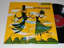 STRAUSS NM Anton Paulik Vienna State Orch. VRS-457 Johann Josef Wine Women Song