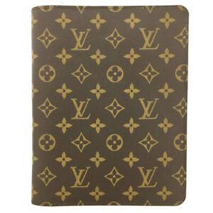 Louis Vuitton Monogram Agenda De Bureau Notebook Cover /F0857