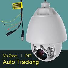 30x Zoom Auto Tracking 1200TVL 960H PTZ High Speed CCTV DOME Camera US stock