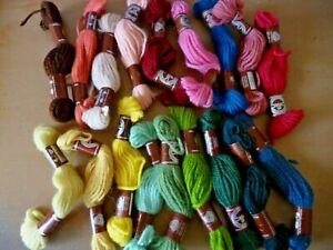 DMC tapestry craft wool x 18 skeins