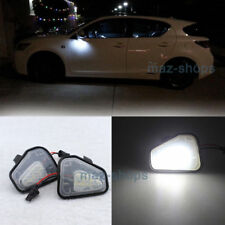 2Pcs LED Side Mirror Puddle Lights Canbus For Vw Volkswagen EOS Passat B7 CC