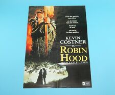 DOUBLE SIDED FOLDOUT POSTER ROBIN HOOD PRINCE OF THIEVES RICHARD GRIECO HITKRANT