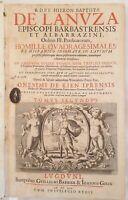 RELIGIONE HOMILIAE QUADRAGESIMALES JERONIMO BAPTISTA DE LANUZA 1659 OMELIE