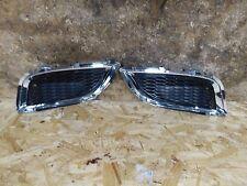 11 12 13 15 Infiniti G37 Q60 IPL Bottom Grilles No Foglights Pair Chrome OEM