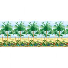 40ft Hawaiian Party Luau Palm Tree Giant Beach Room Scene Setter Wall 672119