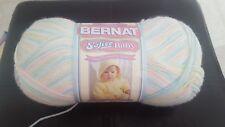 Bernat Softee Baby - Lemon , Baby Pink Marl , Baby Baby- white - Popsicle print