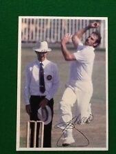 Scanlens Cricket Super Star Card DENNIS LILLEE 1981 #10